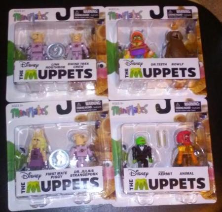 Win The Muppets Minimates Toys! | The Nerds Templar