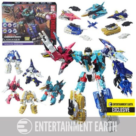 a3ff6d707161 Transformers Generations Platinum Edition Combiner Wars Liokaiser – Entertainment  Earth Exclusive  129.99