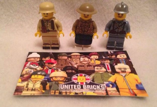 review  united bricks wwi scottish  french and wwii dak