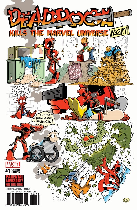 Deadpool Kills The Marvel Universe Again And No One Is Safe The