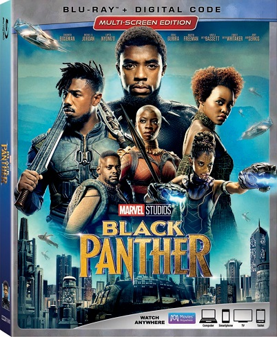 Marvel Studios' Black Panther on Digital May 8 and Blu-ray