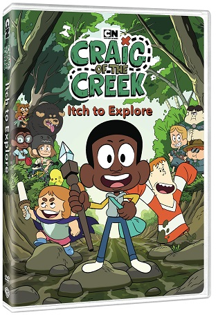 Craig of the Creek: Itch to Explore arrives on DVD on March